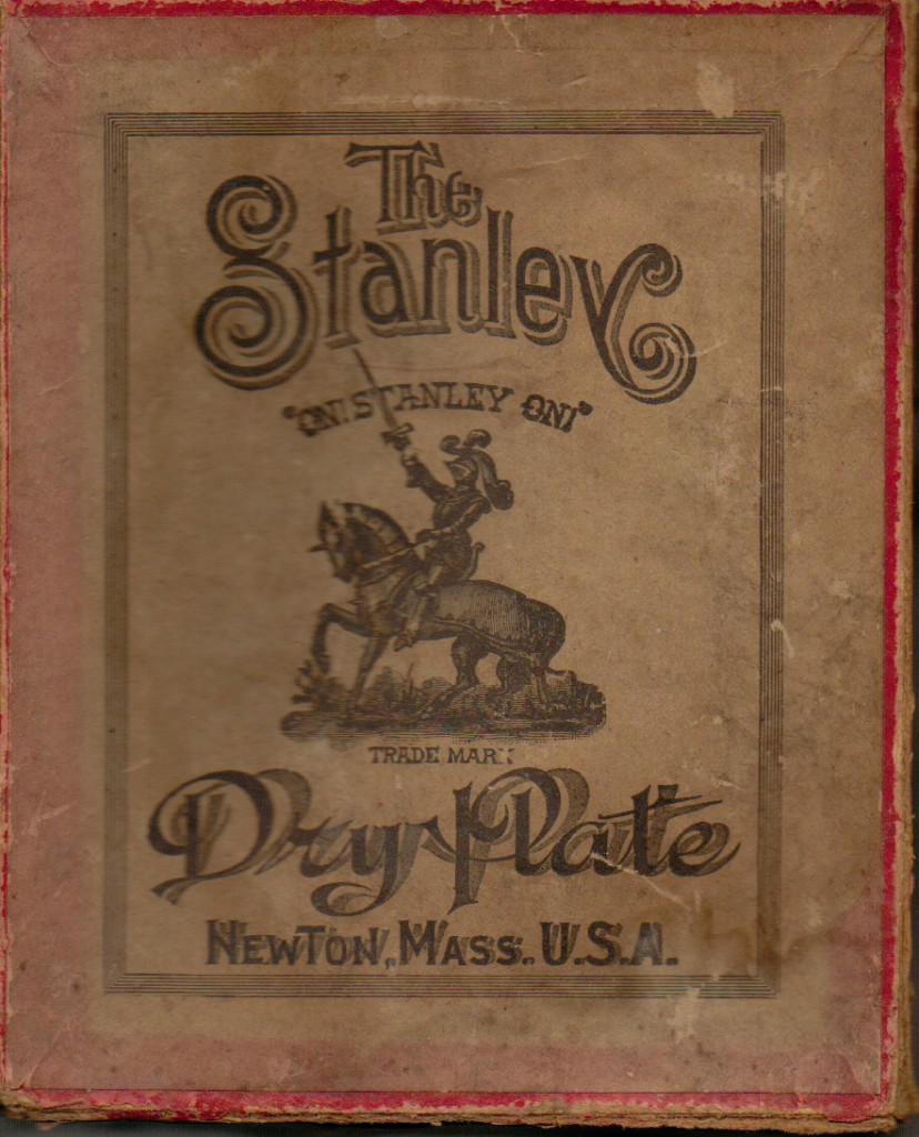 The Stanley Company Dry Plate Box Cover