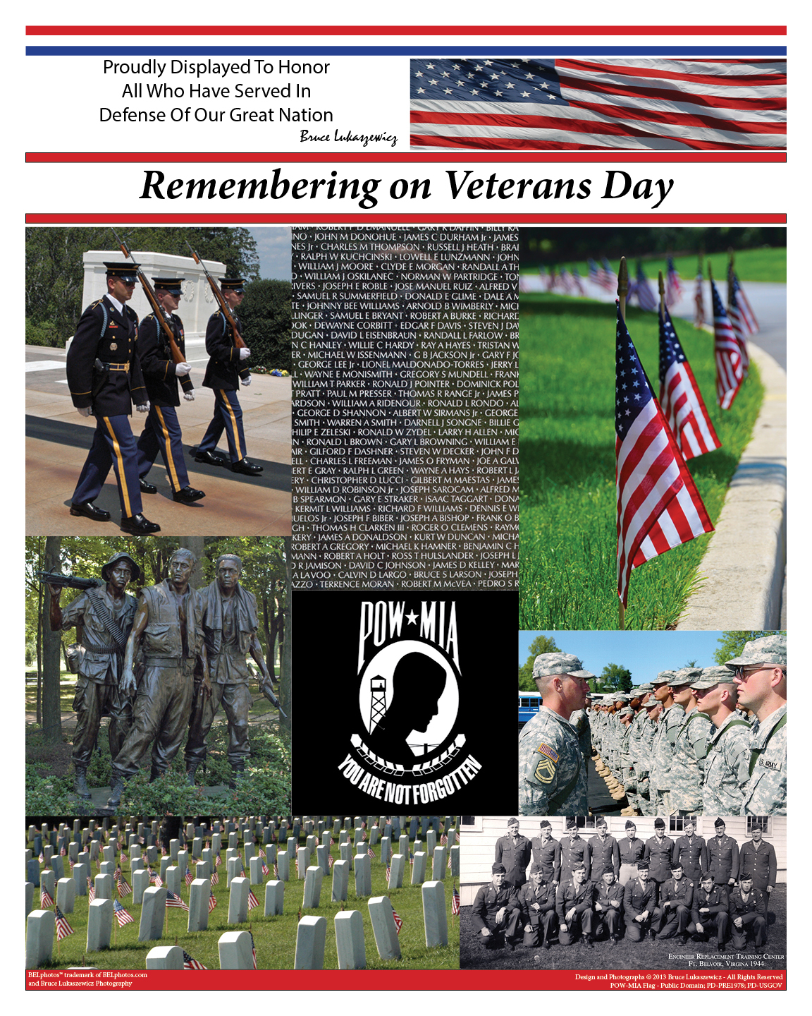 Remembering On Veterans Day