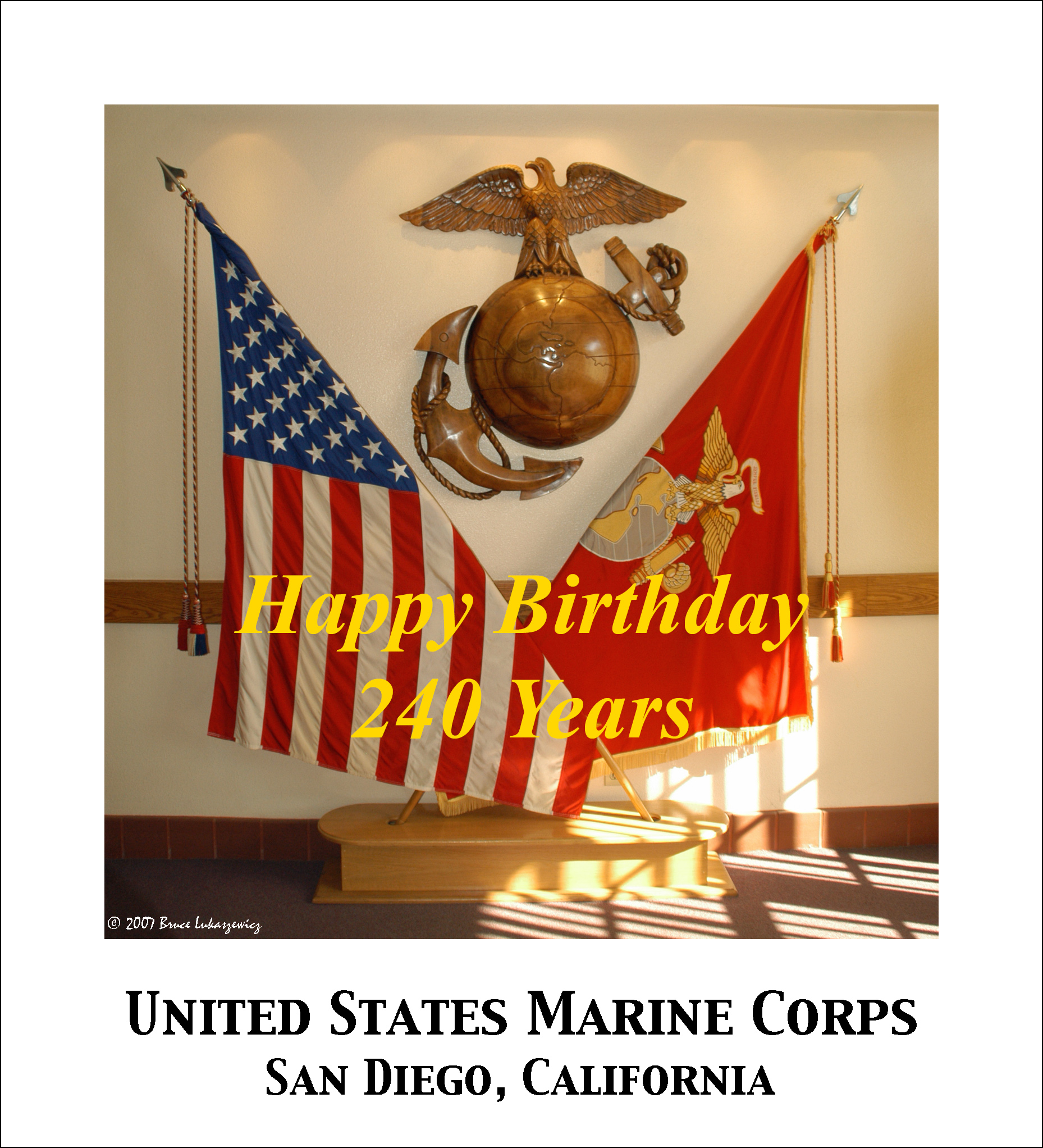 USMC - 240 Years